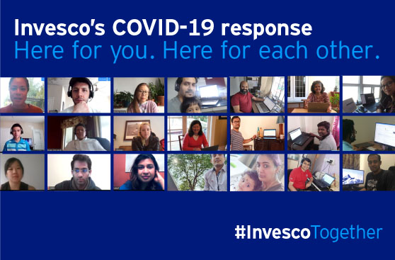 Invesco's response to COVID-19: Our people, our clients and our communities