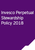 Invesco Perpetual Stewardship Policy  2018